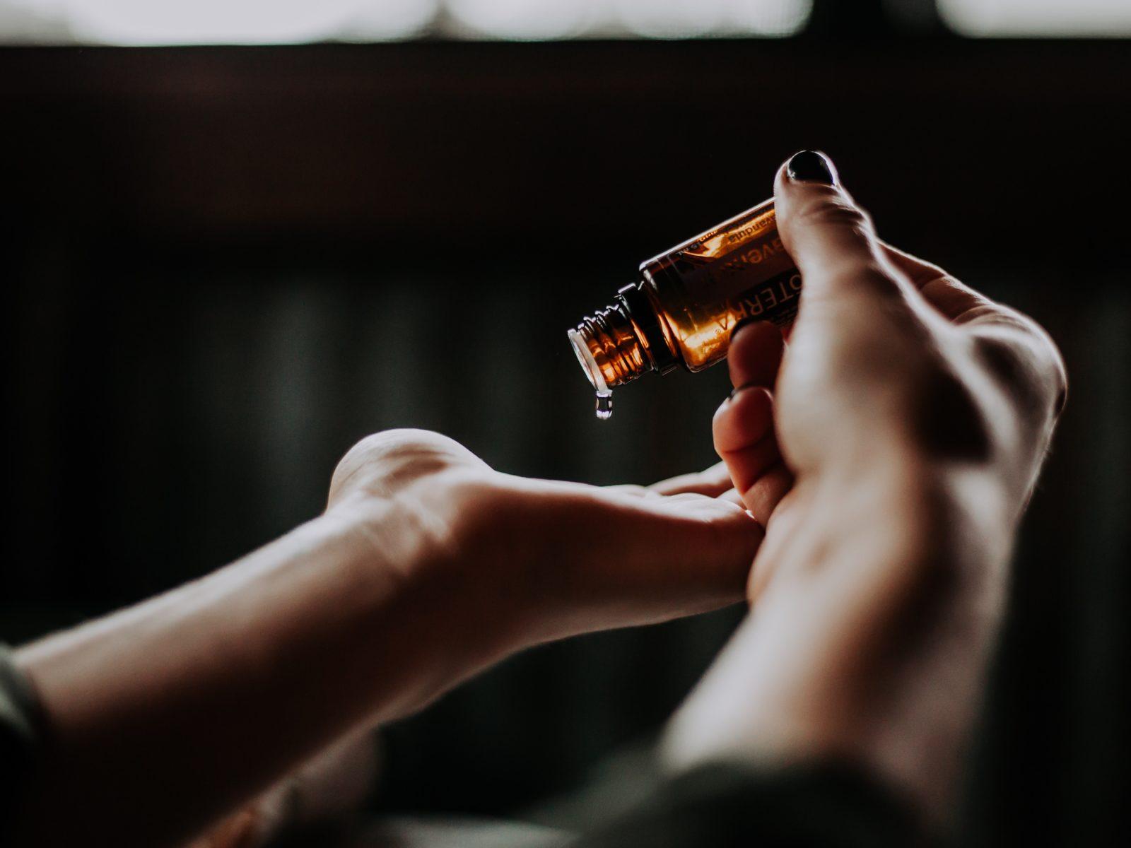 essential oils at spa